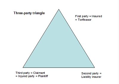 Three Party Triangle